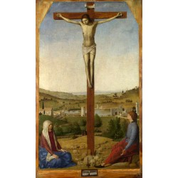 Christ Crucified,Antonello...