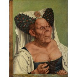 Portrait of a Grotesque Old...