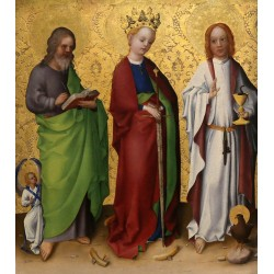 Saints Matthew,Catherine of...