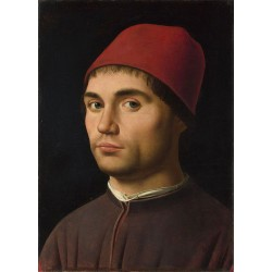 Portrai of a Man,Antonello...