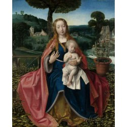 THe Virgin and Child in a...