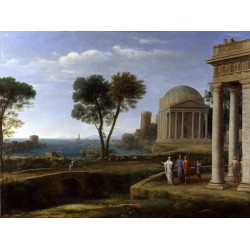 Landscape with Aeneas at...