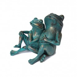 Two frogs, fountain for...