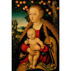 THe Virgin and Child under...