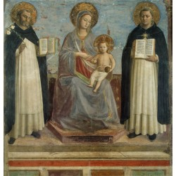 Madonna and Child with St...