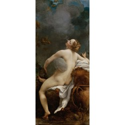 Zeus and Io,Correggio,80x40cm