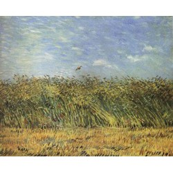 Wheat Field with a...