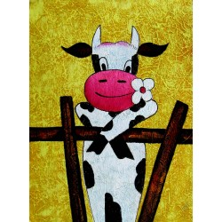 A romantic cow, 30x40 cm or...