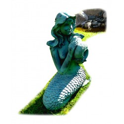 Mermaid, fountain for your...