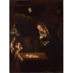 Nativity, at Night,Geertgen...