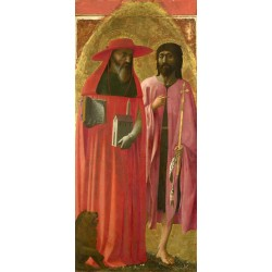 St Jerome and St John the...
