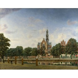 View of the Westerkerk,...