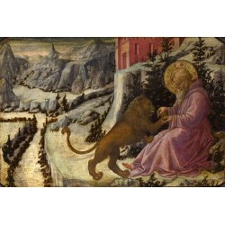 St Jerome and the Lion,Fra...