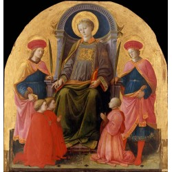 St Lawrence Enthroned with...