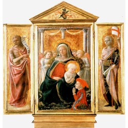Madonna of Humility with...