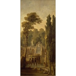 Landscape with Terrace and...