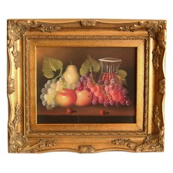 Fruits painting with...