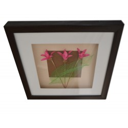 Flowers, Framed picture,...