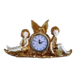 Clock with angels 38x22x11 cm